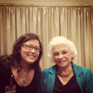 With retired Supreme Court Justice Sandra Day O'Connor